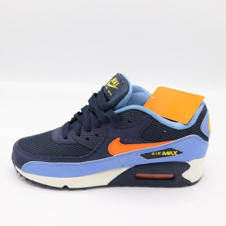 AIR MAX EN Bleu et Orange